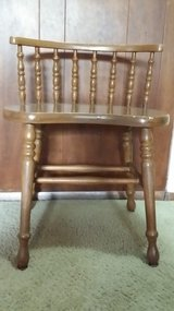 Antique Barrel back chair in Naperville, Illinois