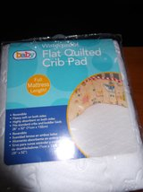 QUILTED CRIB PAD    NEW IN PACKAGE in Cherry Point, North Carolina