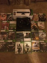 XBOX 360 Slim (250GB) + Kinect + 2 Controllers + Games + HDMI Cable in Fort Drum, New York