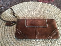 Coach Brown Suede Wristlet in Naperville, Illinois