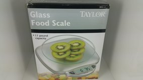 Taylor 11 Pound Capacity Glass Food Scale in Joliet, Illinois