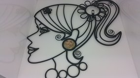 "Glamour Girls Wall Hanging Metal Decorative ""Clair"" in Joliet, Illinois"