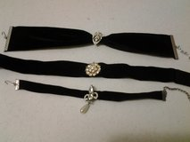 Black Velvet Ribbon Chocker in Eglin AFB, Florida