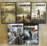 The Walking Dead Seasons 1-5 DVD Set in Fort Sam Houston, Texas