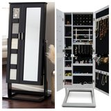 Two Door Mirror Jewelry Cabinet -NEW IN BOX in Okinawa, Japan