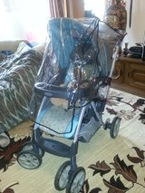 """""""Graco""""excellent cond.stroller with rain cover in Ramstein, Germany"""