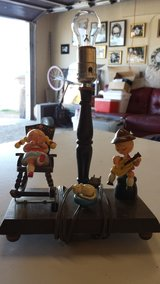 Vintage Animated Music Box  Childs Lamp in Nellis AFB, Nevada