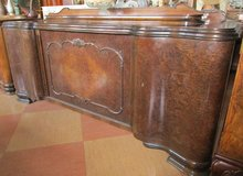 Antique Sideboard with Nice Pedestal in Ramstein, Germany