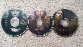 Lord of the Rings Dvds in Camp Lejeune, North Carolina