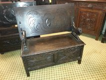 Lion Arm Rest Monks Bench others available in Lakenheath, UK