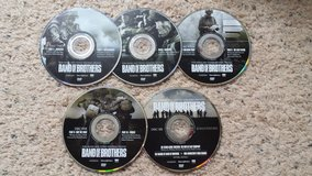 Band of Brothers DVDs in Camp Lejeune, North Carolina