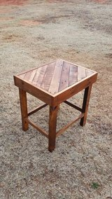 Reclaimed wood - End table in Lawton, Oklahoma