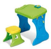 Crayola coloring table and stool in Joliet, Illinois
