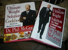 Dr. Phil Ultimate Weight Loss Solution Book & Cookbook Lot in Guam, GU