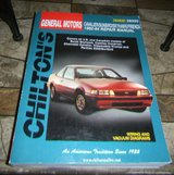 Chiltons Repair Manual GM Cavalier / Sunbird / Skyhawk / Firenza 1982-1994 in Houston, Texas