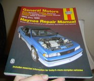 Haynes Repair Manual General Motors 1982-1994 in Houston, Texas