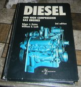 Diesel and High Compression Gas Engines, Kates and Luck 1974, American Technical in Houston, Texas