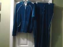 Hooded Track Jacket & Pants - Blue in Eglin AFB, Florida