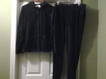 Hooded Track Jacket & Pants -Black in Eglin AFB, Florida