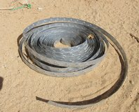 100 FT PLUS  APPROX OF STEEL WATER HEATER STRAPPING HEAVY DUTY in 29 Palms, California