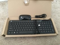 HP Keyboard and mouse - Brand New - Never Used - In Box - Hewitt Packard Black in Chicago, Illinois