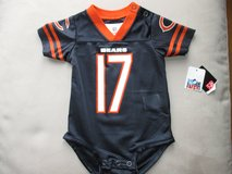 Chicago Bears NFL Infant Baby Jersey 0-3 M #17 Jeffery One Piece Romper Unisex in Bolingbrook, Illinois