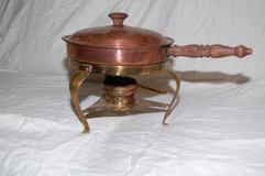 Vintage fondue cook set in Fort Leonard Wood, Missouri