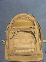 Used bugout backpack in Camp Pendleton, California