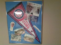 Chicago Cubs 1990's Scorecard and 1980's Photos of  Wrigley Field in Glendale Heights, Illinois