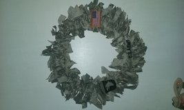 Army wreath in Fort Campbell, Kentucky