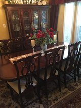 DINING SET-GORGEOUS -hutch and 8 chairs in Kingwood, Texas