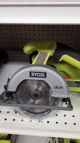 RYOBI 18 volt saw with bag in Yucca Valley, California
