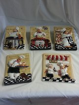 Ceramic Kitchen decor set of 5 reduced in Tinley Park, Illinois