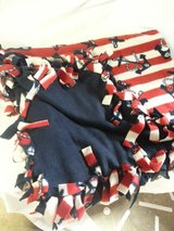 Handmade fleece tied throw 48x60 inch reduced in Tinley Park, Illinois