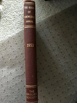THE BOOK OF KNOWLEDGE 1953 ANNUAL BOOK in Oswego, Illinois