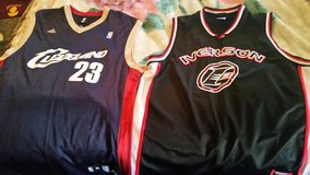 Mens Allen Iverson and LeBron James Jerseys! in Fort Bliss, Texas