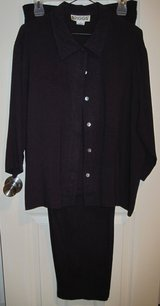 Ladies' Business Casual pantsuit, size L in Houston, Texas