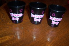 3 Bachelorette party shot glasses in Kingwood, Texas