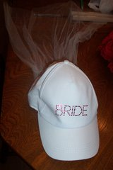 Bride Wedding hat with veil in The Woodlands, Texas