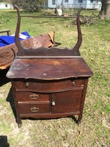 Antique washstand in Moody AFB, Georgia