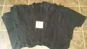 14 black tshirts size m 11-12 youth in Fairfield, California