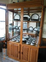 Noritake China and Cabinet in Coldspring, Texas