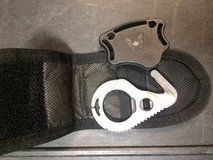 Benchmade 5 Hook Fixed Blade Strap Cutter with Soft Sheath, Black in Camp Pendleton, California