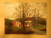 Country Barn – Oil on Stretched Canvas in Camp Lejeune, North Carolina