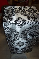 Flocking Damask Table Runners in Conroe, Texas