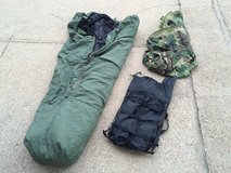 Military sleeping bag in Fort Leonard Wood, Missouri