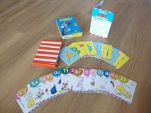 Dr. Seuss Beginner Alphabet cards in Lakenheath, UK