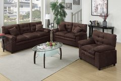 NEW 3 PC SOFA SET in Riverside, California