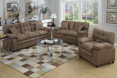 NEW SOFA LOVE SEAT AND CHAIR in San Bernardino, California