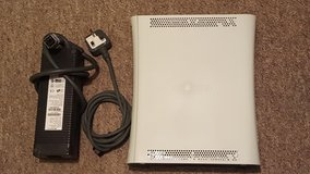 Xbox 360 with power pack and AV cable in Lakenheath, UK